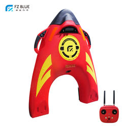 Remote Control Battery Powered Motorized Life Buoy Anti Drowning Lifesaving Device Water Rescue Robot