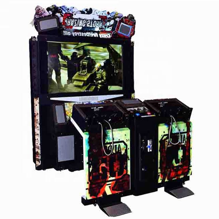 Indoor 55 Inch Simulator Razing Storm Arcade Shooting Gun Game Machine Voor Volwassen