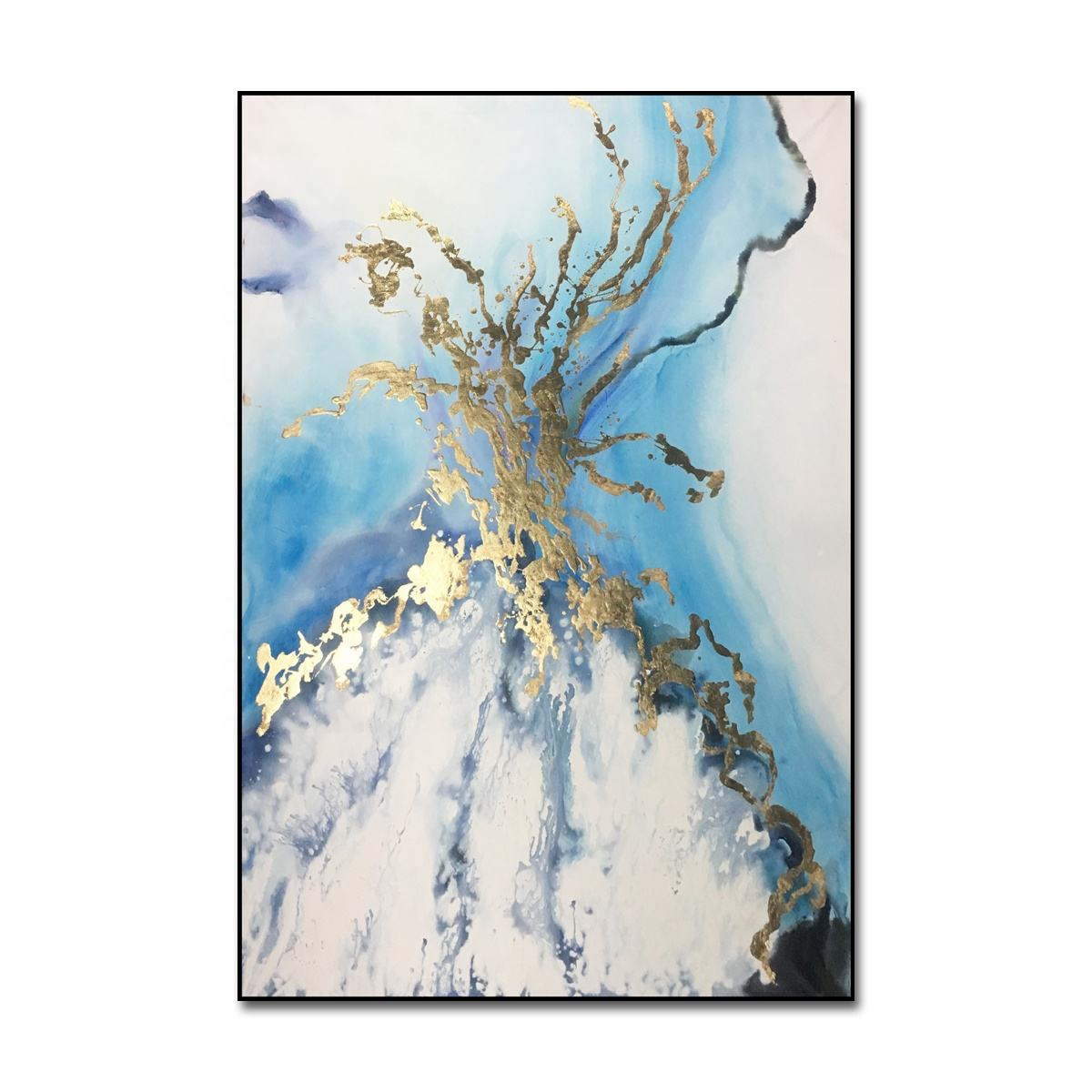 Customize Modern Abstract Canvas Paintings Wall Art Handmade Oil Painting on Canvas Artworks for Hotel