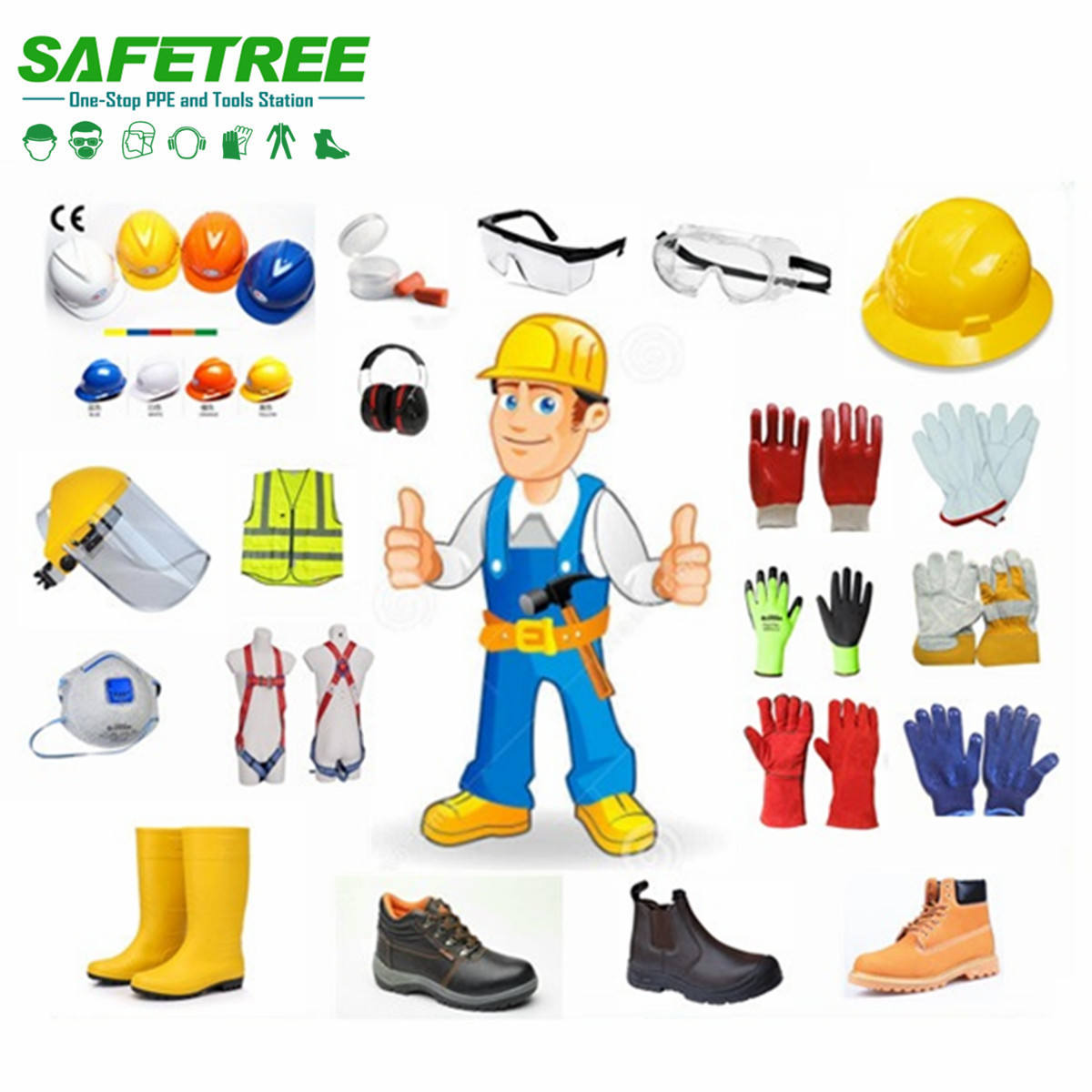 Safetree PPE industrial / construction safety equipment