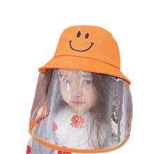 Children uv protective supplier kids visor shield factory soft plastic pvc sun bucket hat