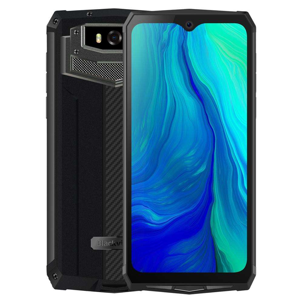 Komay Hot selling Blackview BV9100 Triple Proofing Phone IP68 Waterproof Dustproof Shockproof 6.3 inch Android9.0