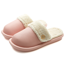 wholesale winter home indoor slipper anti water couple woman plush slipper