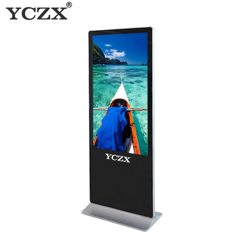 58 inch lcd display advertising monitor with video advertising player