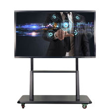 65 Inch 4K LCD Interactive touchscreen conference room smart board