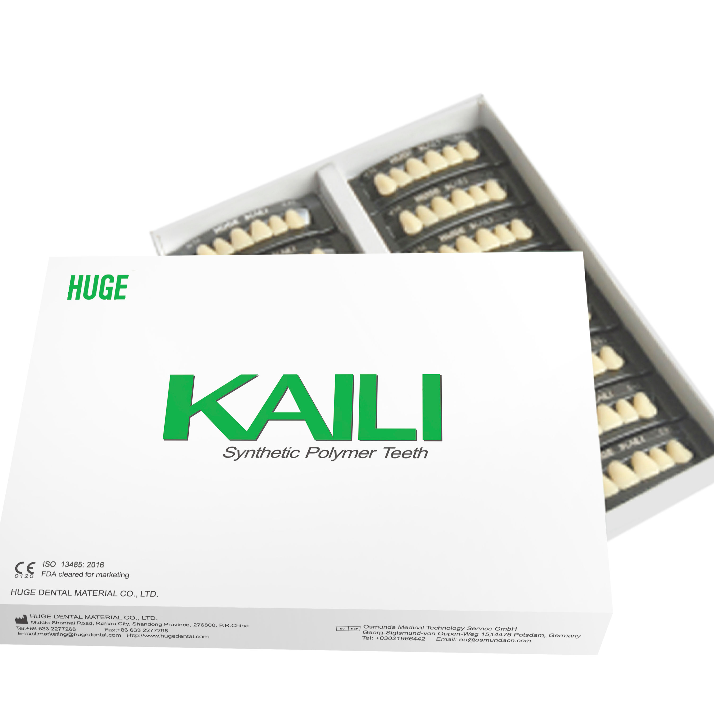 Synthetic Polymer Teeth KAILI series