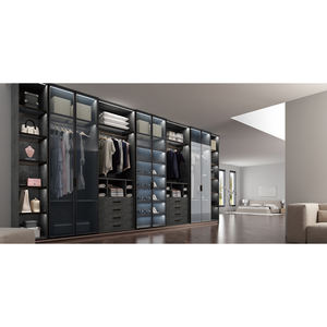 Flat Pack Wardrobes American Cupboard Hinged Mirror Closet Flat Pack Swing Casement Door Wardrobe