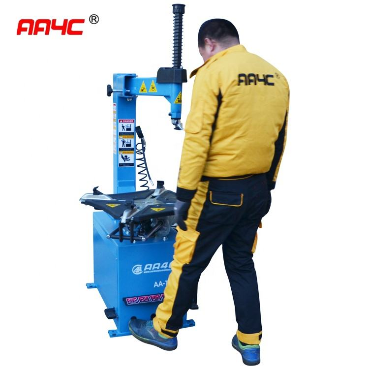 AA4C auto tyre changer tyre changing machine tyre demount machine swing arm with 5 pedals AA-TC112B