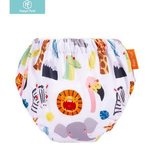 Happyflute adjustable cotton training pants Toddler Potty Training Underwear for Boys
