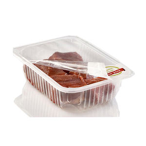 High clarity cold sealing easy peel plain tray lidding film for ready meals