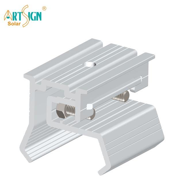 Solar Components Solar Aluminum Roof Hook for Metal Tin Roof