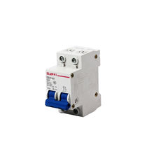25 amp ASI NDB1L-32C-25-240V DIN Rail Mount Ground Fault Circuit Breaker UL 1053 Ground Fault Sensing 240V Leakage Current 30 mA