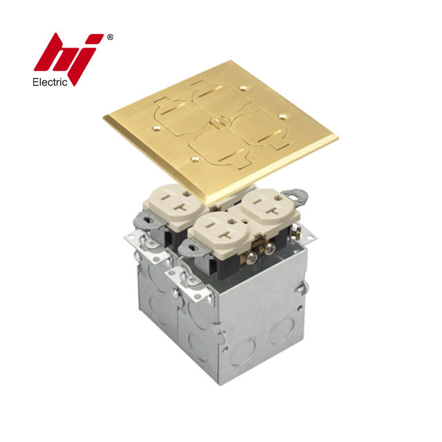 Beste Keuze China Leverancier <span class=keywords><strong>Productie</strong></span> Flip Deksel Floor <span class=keywords><strong>Socket</strong></span> Met Ons Bakje En Junction Box