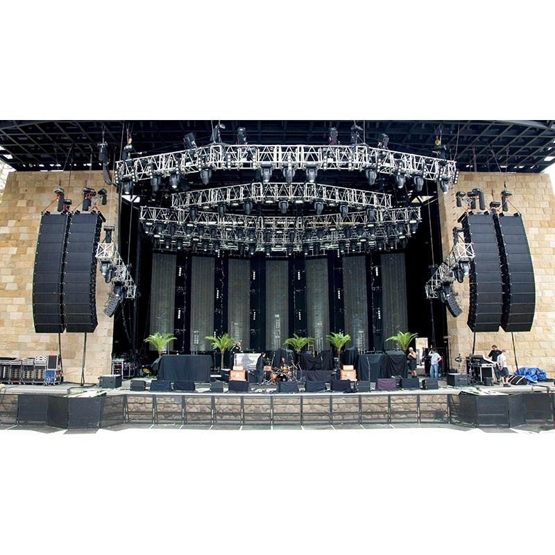 Aktif Line Array Speaker Sound Sistem Line Array Audio