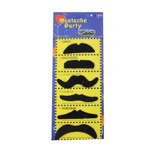 Stick On False Moustache based on one of many classic designs Black Moustaches