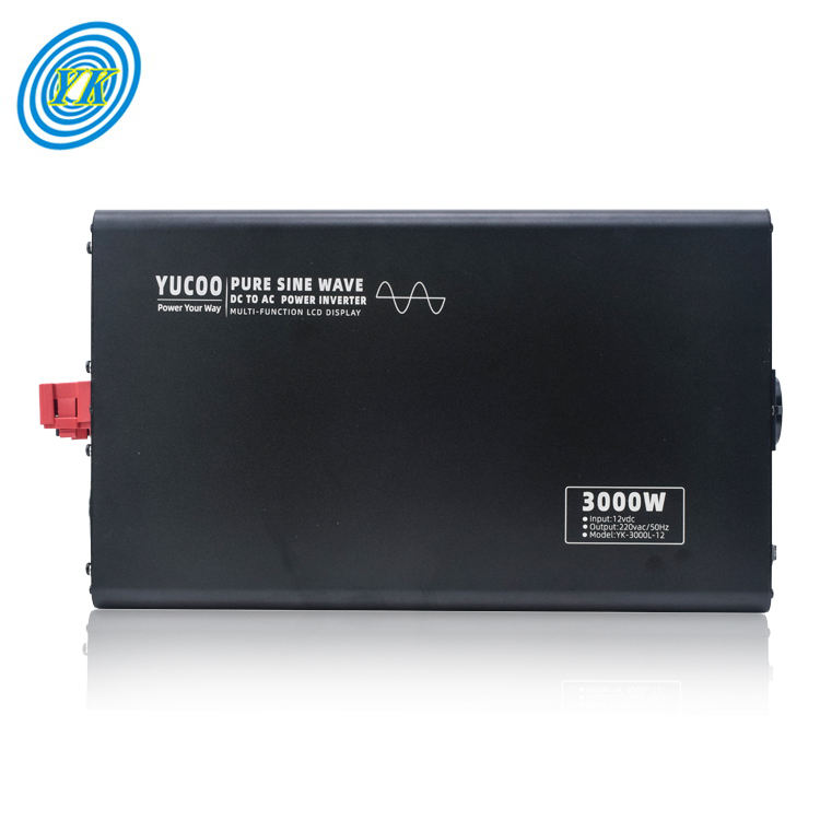 Multi-funktion 12v 24v 48v 60v 72v dc zu ac reine sinus welle 3000 watt power inverter