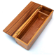Wine Box Wine Ruichen Premium Hand Crafted Luxury Solid Wood With Hinged Lid Wooden Wine Gift Box