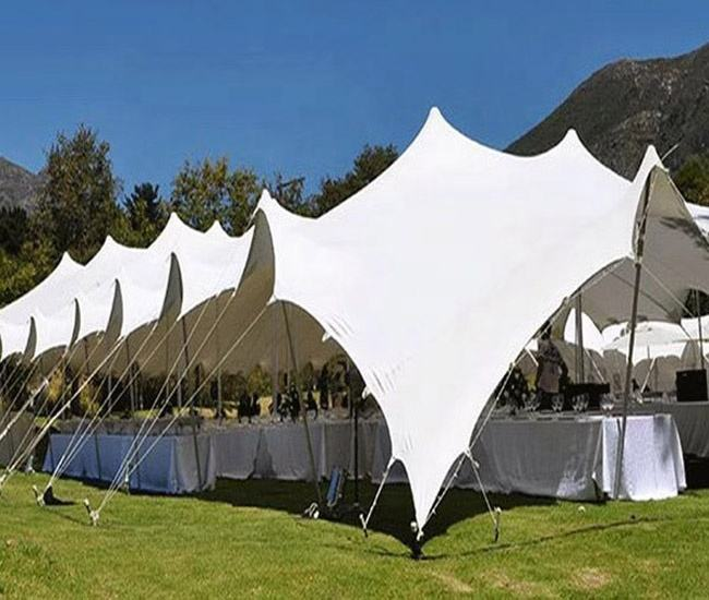 Elastic Fabric Waterproof 200 Seated Bedouin Stretch Tents For Wedding/Carnival