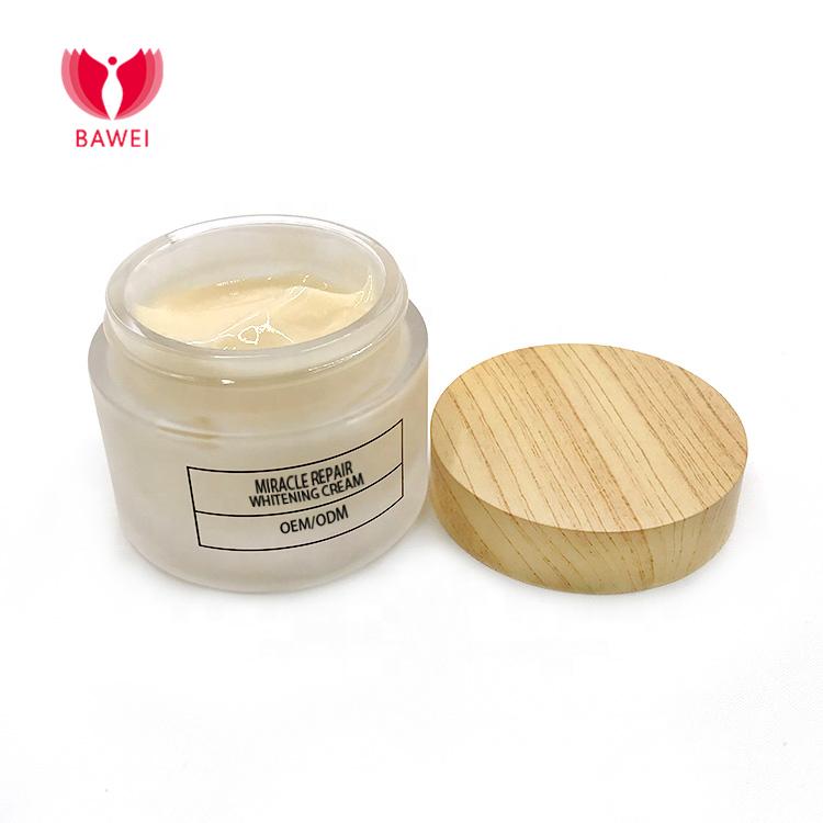 BAWEI granos manchas oscuras de acné y oscuro lugar removedor de cara y cuerpo crema blanqueadora para la piel oscura