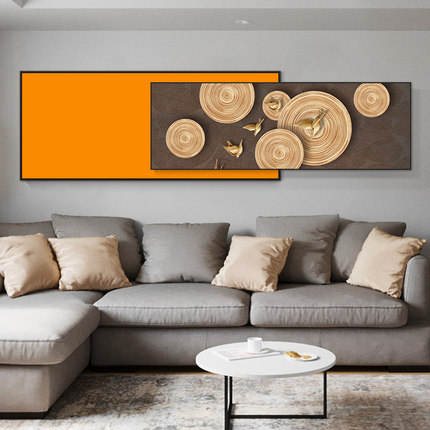 Abstract Modern Fabric Oil Painting Designs Seven Wall Arts Canvas Print Painting For Living Room Wall