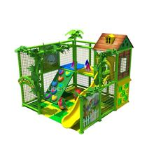 Small plastic indoor soft playground equipment for hotel kids play area
