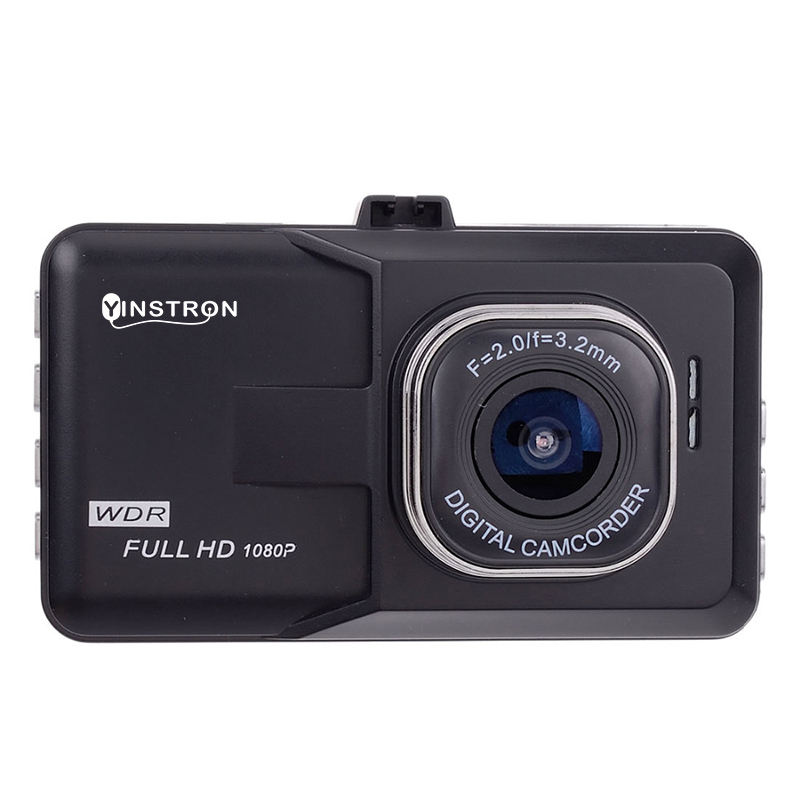 New Model T206 3.0 inch Dash Cam 720P 140 Degree Black Box DVR Car Video Camera