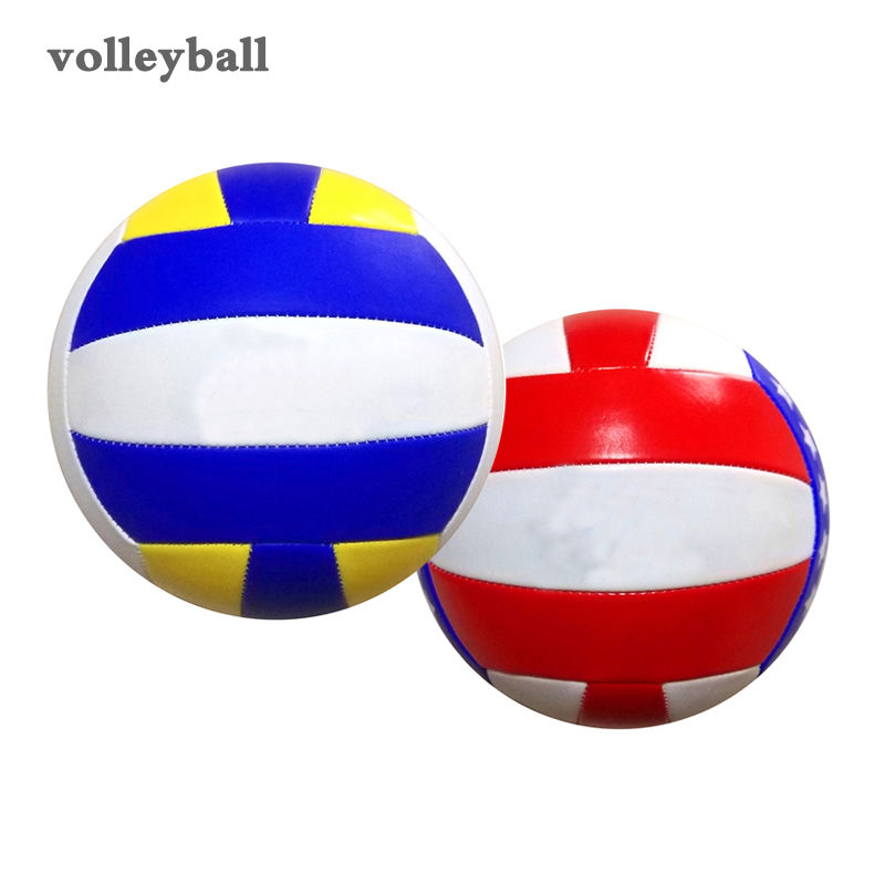 REGAIL Hot Sales Machine Sewn Official Size Softly Foam Beach Game Volleyball Manufacturer