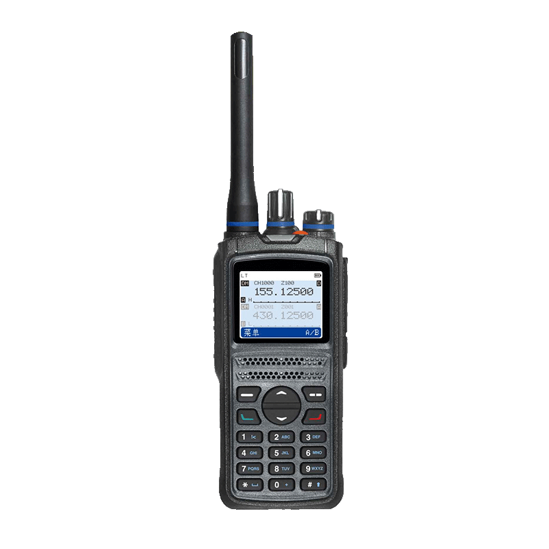 Panas TID 1.5W Audio UHF VHF Handheld DMR Digital Dual Band