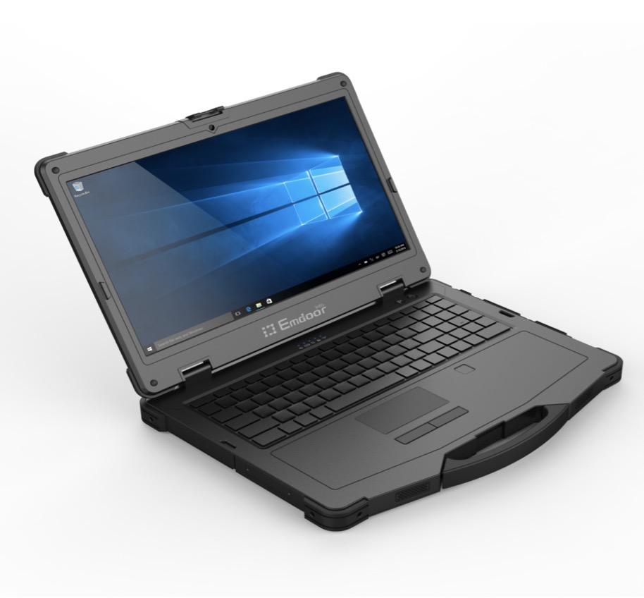 """Fábrica 15,6 """"i5 plenamente resistente IP65 Industria de China de ordenador portátil windows10"""