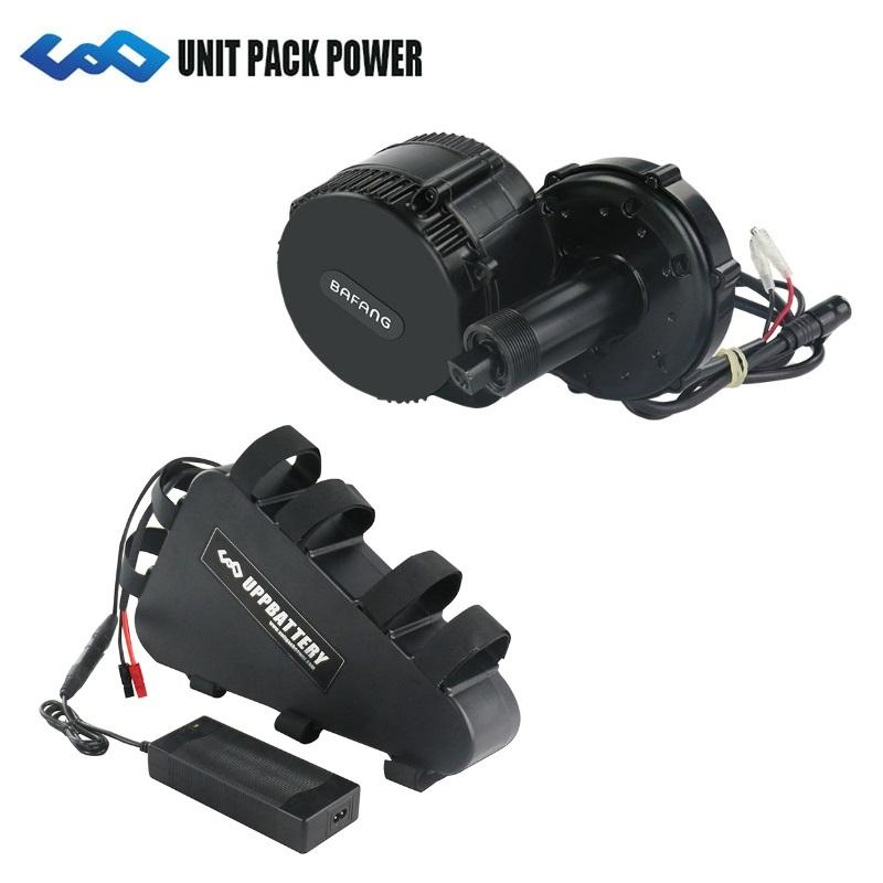 8fun Bafang BBSHD 48V 1000W Mid Drive Motor kit For Electric bike With 48V 20Ah triangle battery