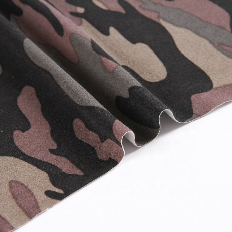 Various styles exquisite and charming polyester spandex military camouflage fabric wholesale