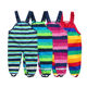 OEM Customization Kids Babies Boys and girls woven rain pants kids wears custom rain pants