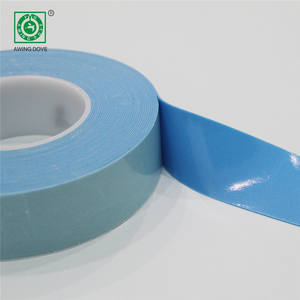 Die Cut Biru Busa Perekat Medis Tape Self Adhesive Tape Roll