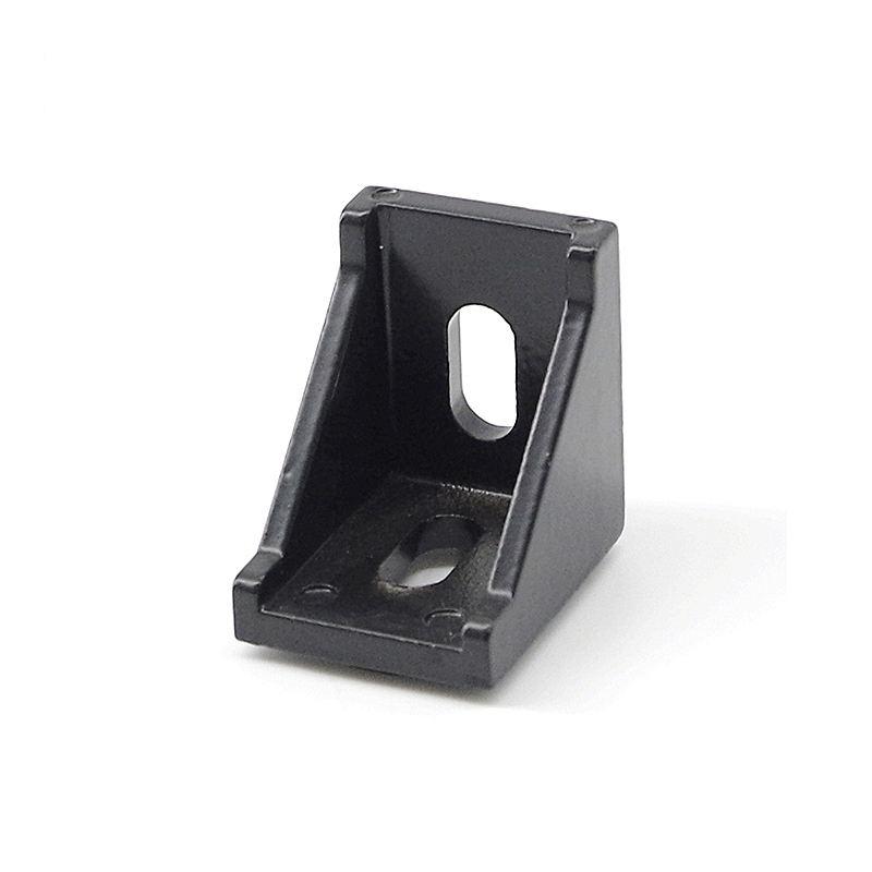3030a-6 die cast inside corner bracket for aluminum profile