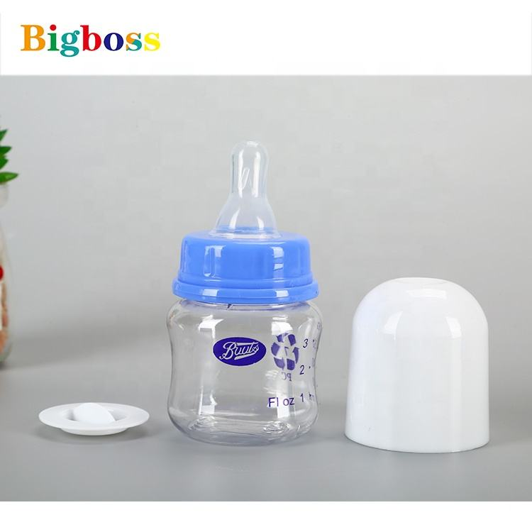 2020 China Manufactured 60Ml Milk PP PC Silicone Baby Feeding Bottle