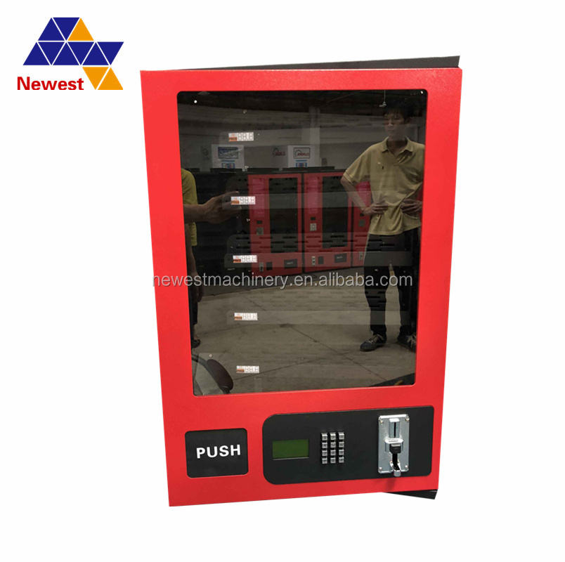 Small vending QTY of channels is 5 digital circuit control Spiral launch desktop vending machine with coin acceptor