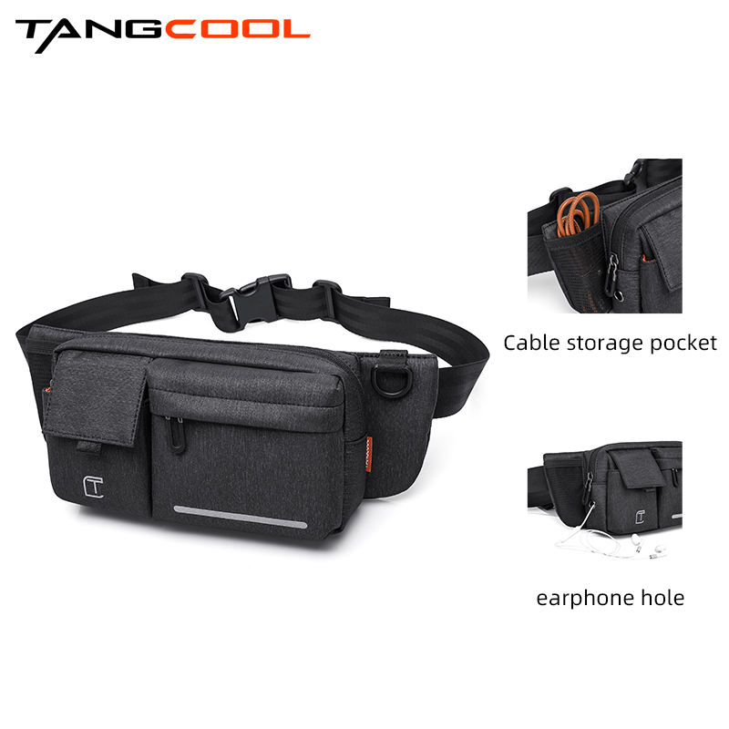 Hot sell factory promotion wholesale cheap high quality fashion waterproof sports man waist bag
