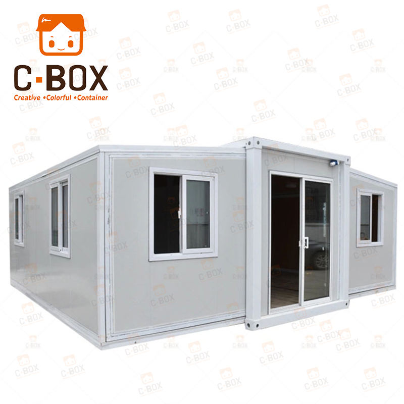 China Cheap 20ft 40ft luxury Prefab Container Home Modular Model 2 Bedroom Prefabricated Expandable Container House