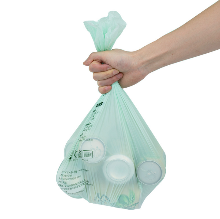 Eco Friendly Compostable 100% Biodegradable Green Garbage Bags