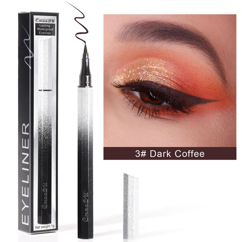 CMAADU 6SYXB Stary Colorful Eyeliner Long-Lasting Sweat-Proof and Waterproof Eyeliner