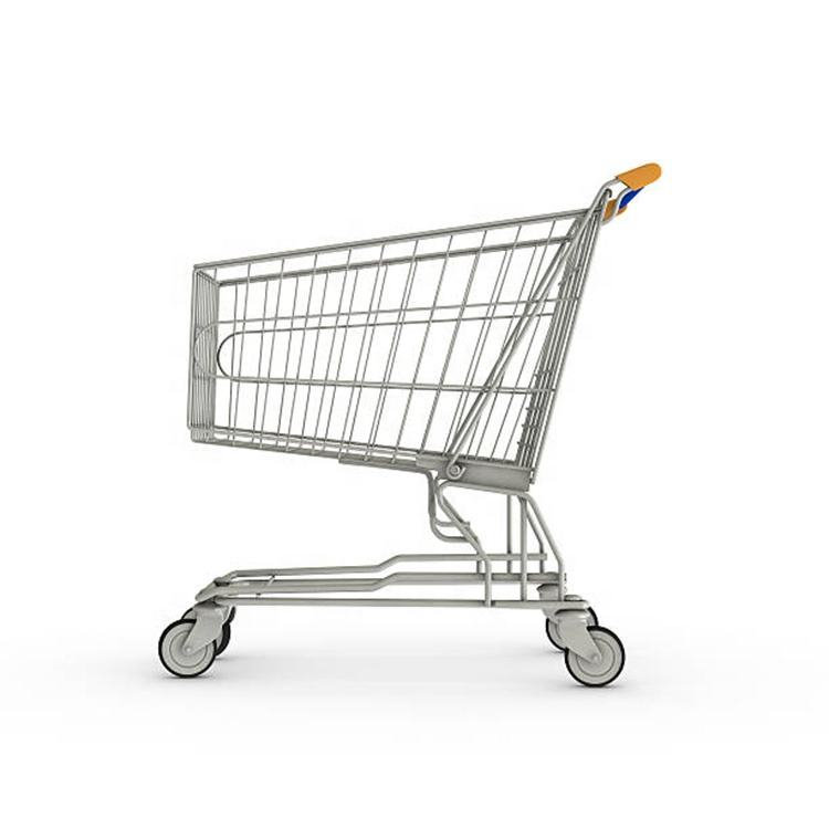 custom certificated supermarket shopping trolley manufacture from china supplier