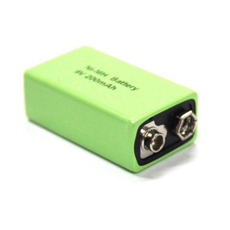 Nimh 9V 200mAh Rechargeable NiMH Batteries use for electronic devices mobile telecom products