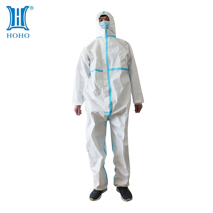 High quality and practicalProtective Suit Disposable Coverall Protective Suit Pp