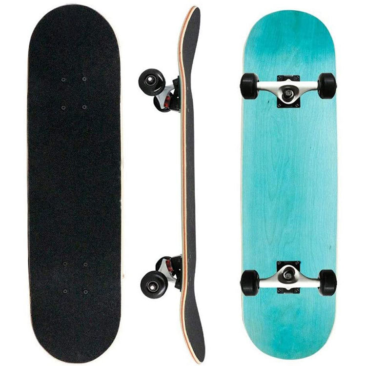 Free Sample High Quality Grip Waterproof Integrity Bolts And Nuts Blank Maple Skate Board