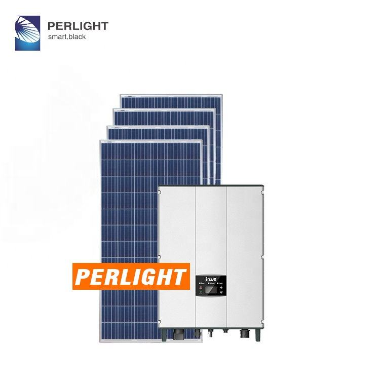 Perlight High efficiency 3D new 12kw on grid solar cooling power system in Punjab for project