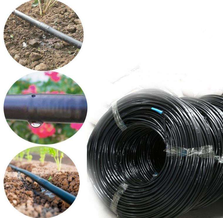 Farm drip irrigation system PE Drip pipe With column Dripper