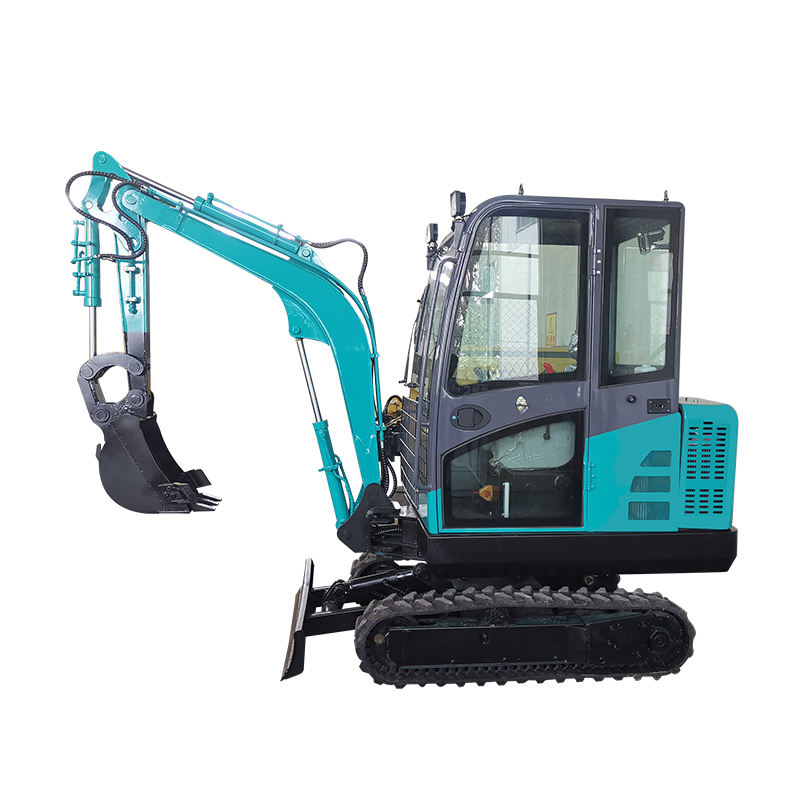 High Cost Performance Crawler Type Hydraulic 1 Ton 2 Ton 3 Ton Tractor Excavator Machine for Sale in Good Condition