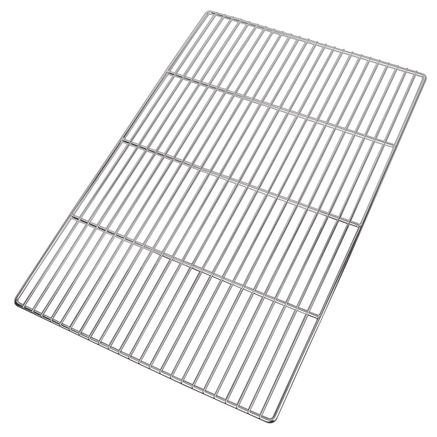 Stainless steel Barbecue grate rectangular 60 x 40 cm rust free for charcoal grill, gas grill