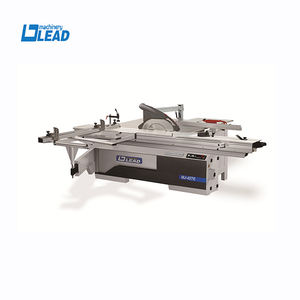 Electronic Lifting Paste Board LED Show Wood Cutting Panel Saw Machine