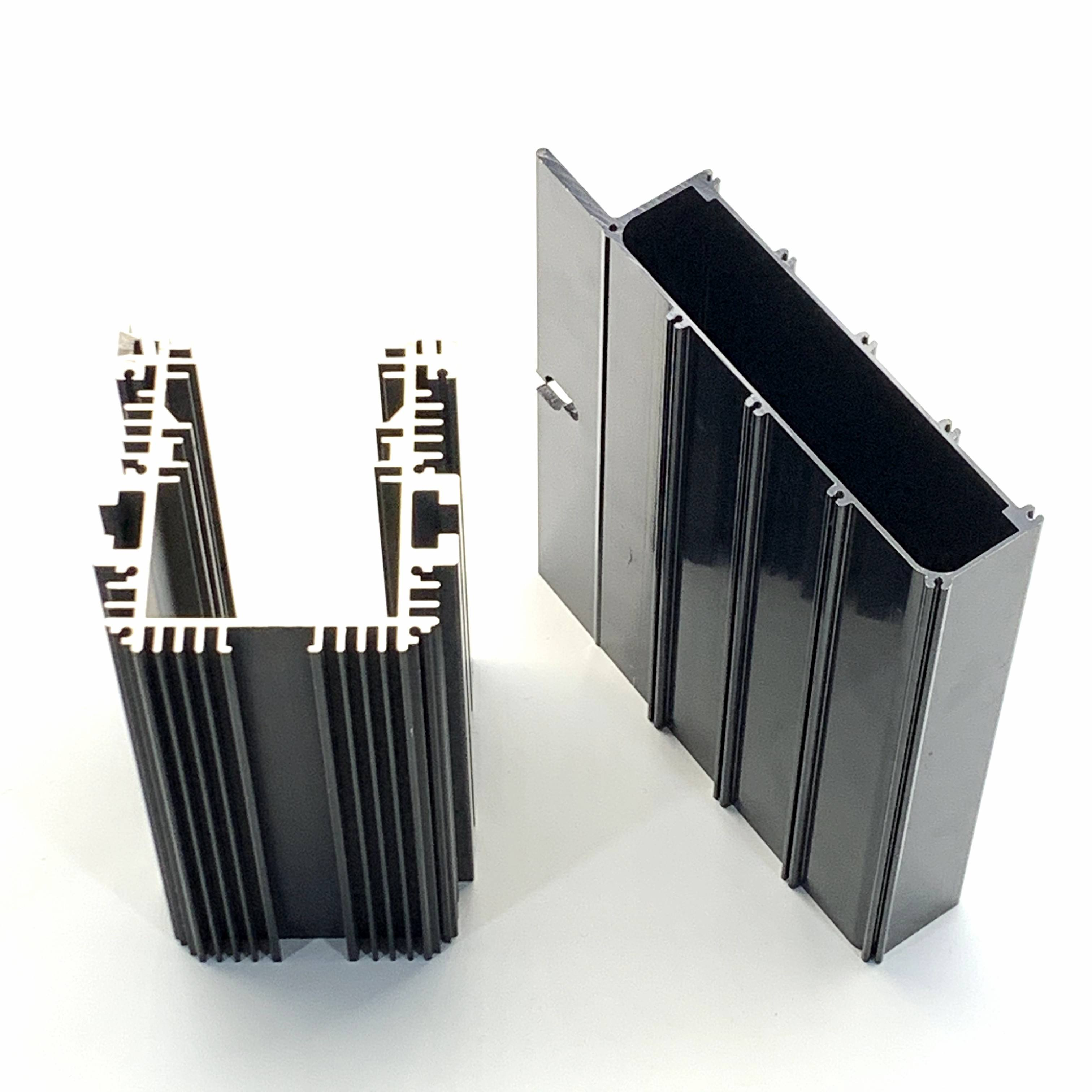 China u shape aluminum extrusion profile with customized length